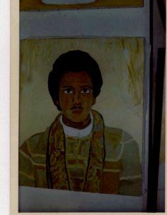Portrait of Abdul-Jalil by Artist Buford Delaney in Paris, France
